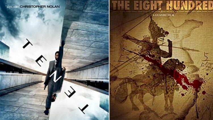 Çin filmi 'The Eight Hundred', hafta sonu gişesinde Nolan'ın 'Tenet'ini geride bıraktı