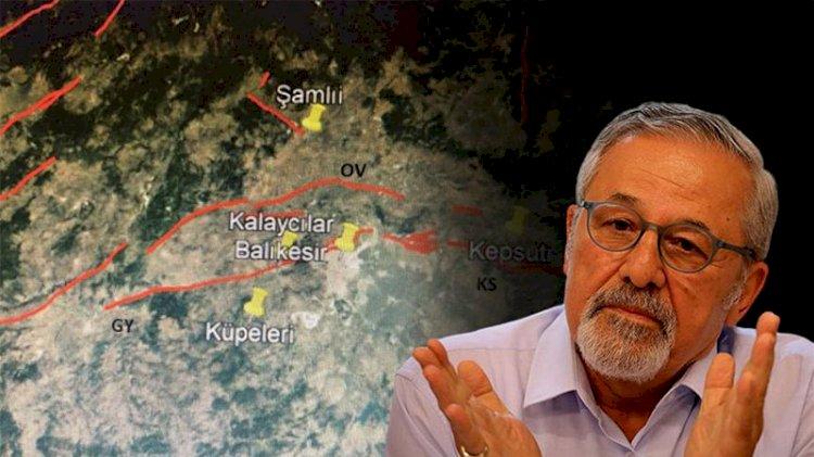 Prof. Dr. Naci Görür Balıkesir için uyarıda bulundu: Gökçeyazı fayı büyük bir tehlike!