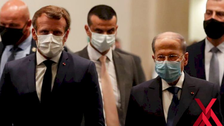 Sömürgeci ruhları hortladı! Macron'dan Lübnan'da küstah ifadeler