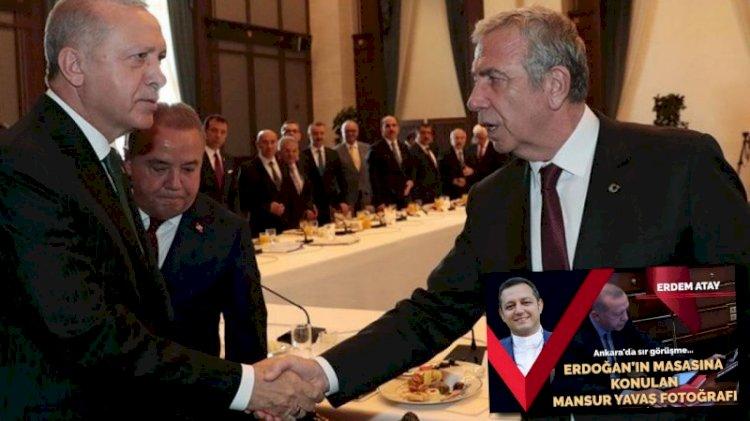Erdoğan-Mansur Yavaş görüşmesine saatler kala Ankara kulisleri bu haberi konuşuyor