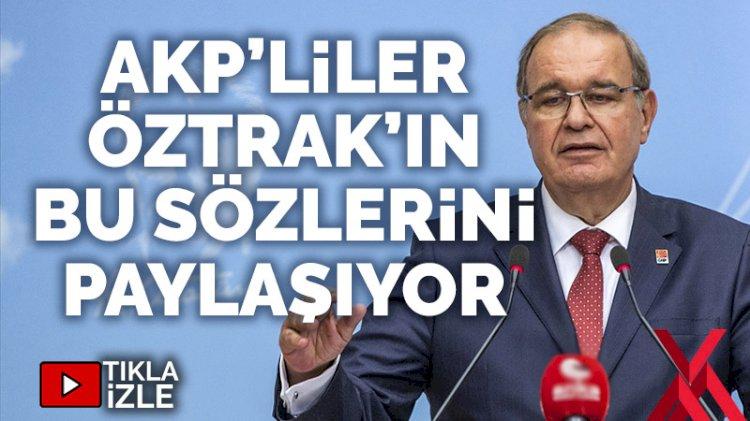 CHP Sözcüsü Faik Öztrak'tan 'adaletsizlik, haksızlık, hukuksuzluk' gafı