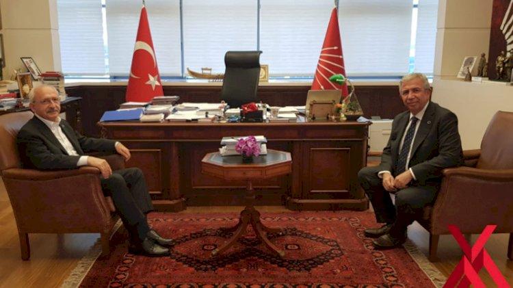 Mansur Yavaş, Erdoğan'dan sonra Kılıçdaroğlu ile görüştü