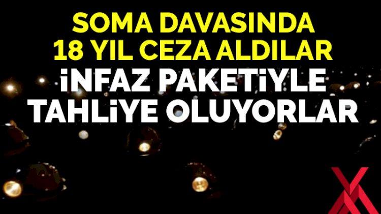 Soma Katliamı davasında 18 yıl ceza alan 2 kişi 'infaz paketi'yle tahliye edilecek