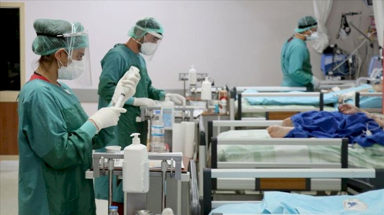 'Sağlık personeli tükendi'