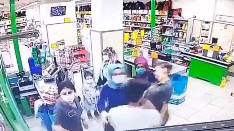 Market çalışanı kadını darbeden şüpheli serbest
