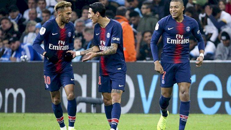 PSG'de Neymar, Di Maria ve Paredes'in koronavirüs testi pozitif çıktı