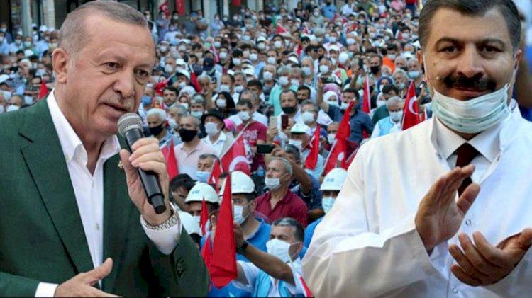Bakan Koca, Erdoğan'ın Giresun mitingine ne dedi?