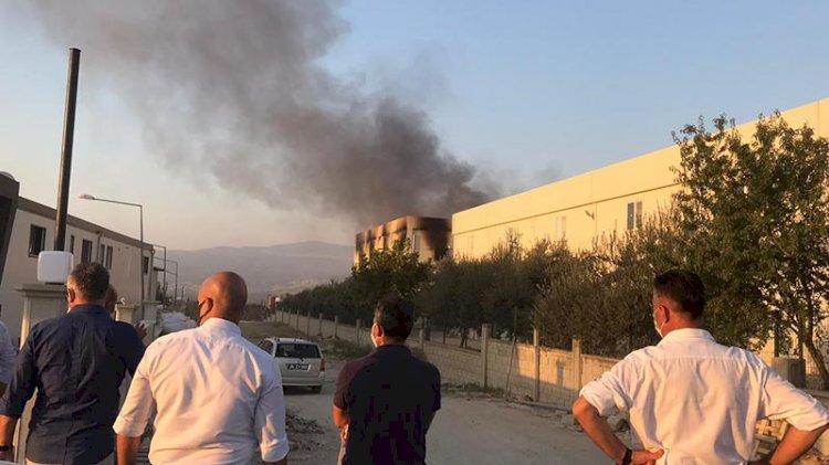Bakliyat fabrikasında patlama... Ölü ve yaralılar var