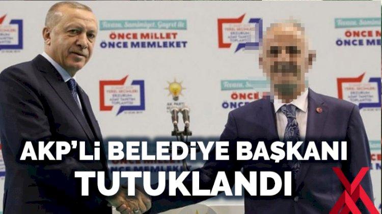 AKP'li Horasan belediye başkanı tutuklandı