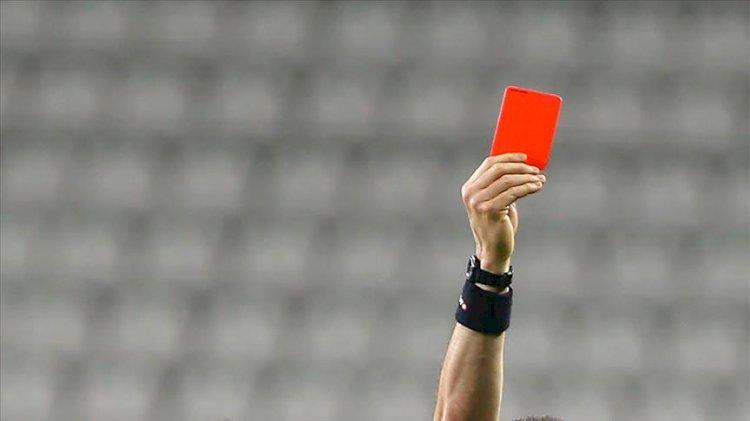 TFF'den kırmızı kart kuralında değişiklik