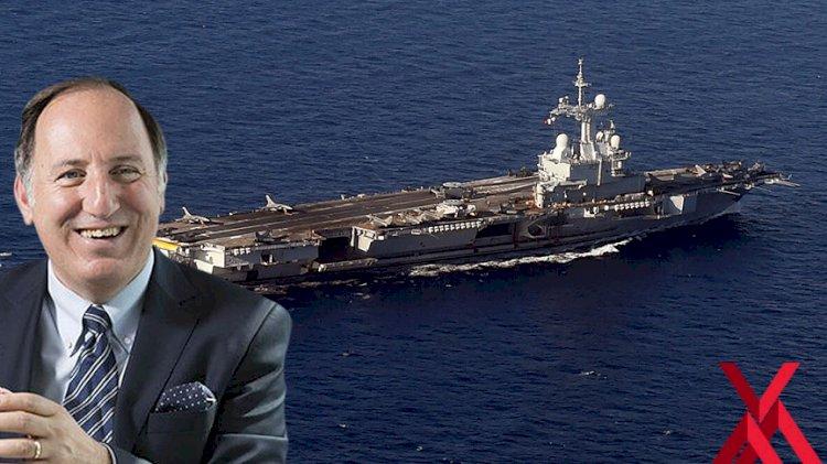 Fransa'nın uçak gemisi göndermesine Cem Gürdeniz'den yorum: Gülüyorum