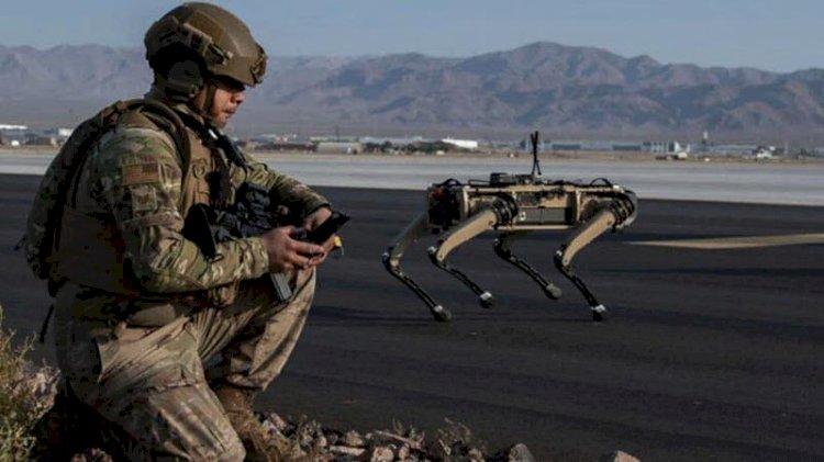 ABD ordusu 'robot köpekleri' test etti