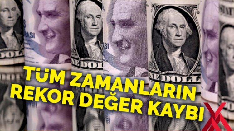 Tüm zamanların rekor değer kaybı: Dolar, Türk Lirası karşısında 7.49'u gördü