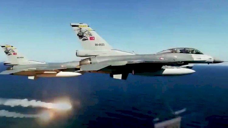 Türk F-16'ları KKTC'de