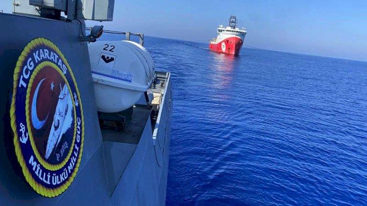 MSB sondaj gemilerinden yeni görüntüleri paylaştı
