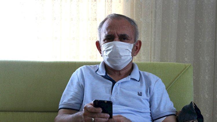 Koronavirüsü atlatan 71 yaşındaki Uçar: İnsan ensesinde Azrail olduğunu hissediyor