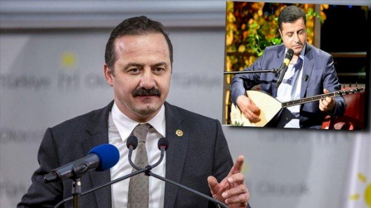 İYİ Parti'den Demirtaş'a 'kahvaltı' şartı: Sazıyla gelip...