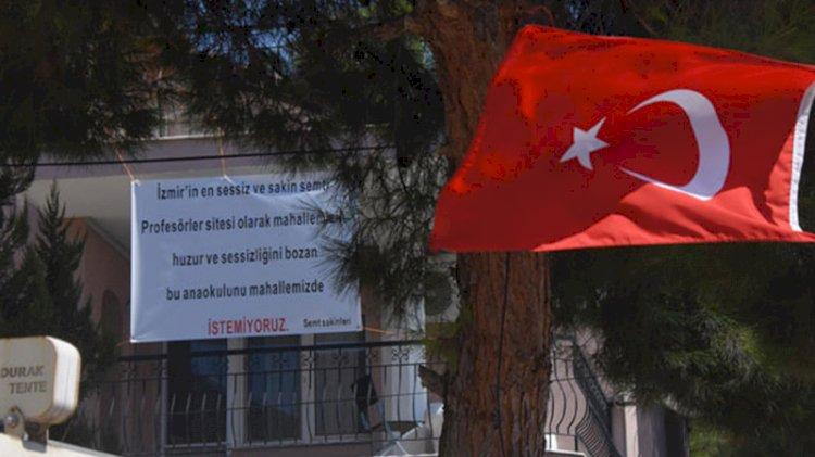 İzmir'de akılalmaz pankart