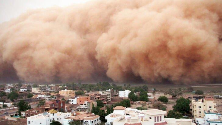 Kırıkkale için toz fırtınası uyarısı