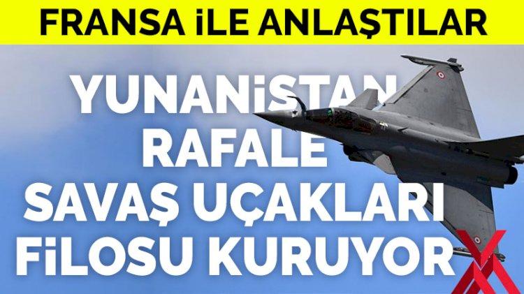 Fransa ile anlaştılar! Yunanistan yeni savaş uçağı filosu kuruyor