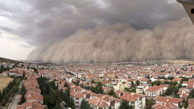 Türkiye geneline 'kum fırtınası' uyarısı