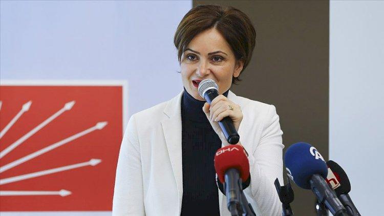 CHP'lilerden Canan Kaftancıoğlu'na 'Atatürk' tepkisi