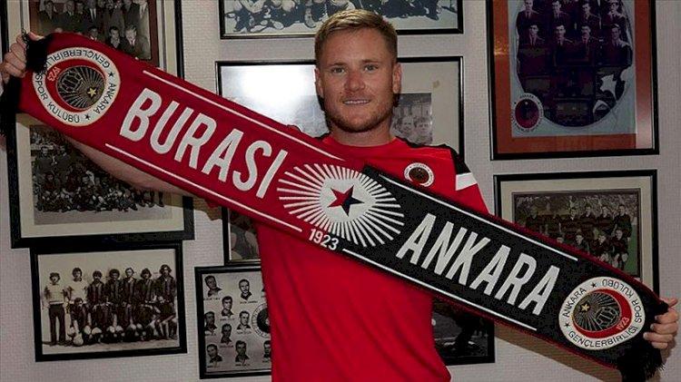 Gençlerbirliği'nin yeni oyuncusu Johansson: Kariyerimi Türkiye'de sürdüreceğim için mutluyum