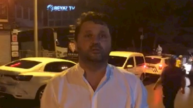 Boşnaklar Beyaz TV önünde ROK'a tepki gösterdi