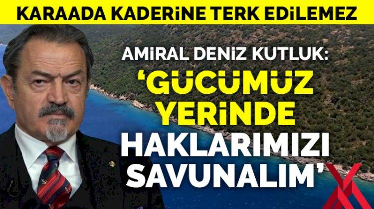 'Türkiye utangaç olmadan haklarını savunmalı'