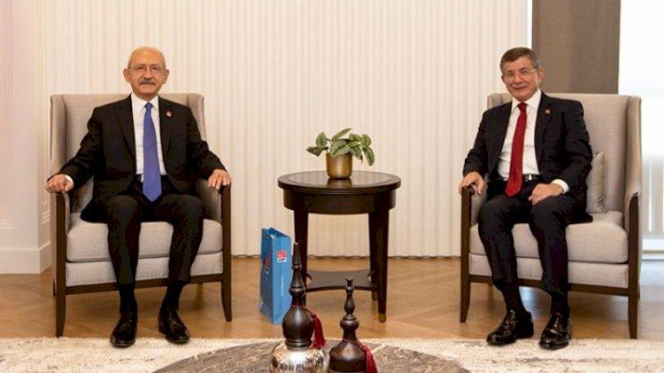 Kılıçdaroğlu-Davutoğlu görüşmesinde 'ortak payda' vurgusu