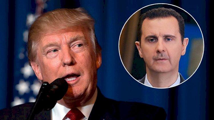 Trump: Esad'ı öldürmek istedim