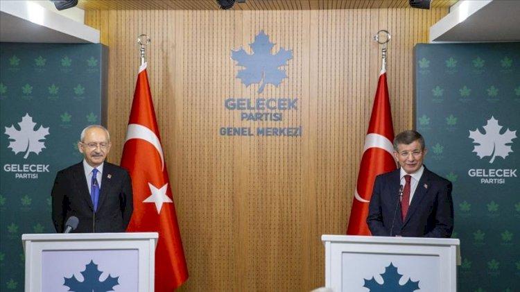 Kılıçdaroğlu'na 'adam müsveddesi' bile demeyen Davutoğlu bugün ne dedi?