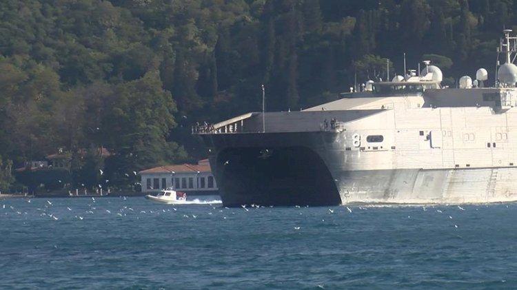 Bir ABD gemisi daha Karadeniz'de