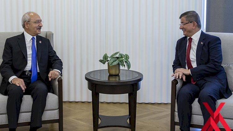 Kılıçdaroğlu'nun hangi sözü Davutoğlu'na kahkaha attırdı?