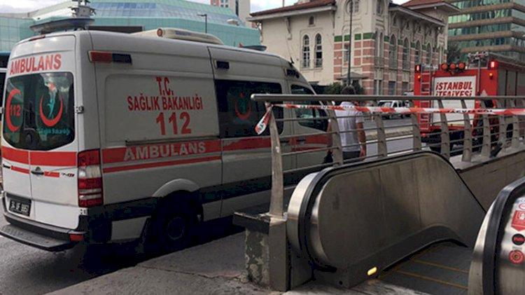 Şişli-Mecidiyeköy Metro İstasyonu'nda intihar eden adam hayatını kaybetti