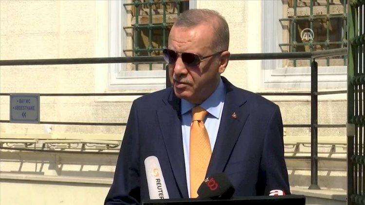 Sarrac'ın istifa haberine Erdoğan'dan ilk yorum