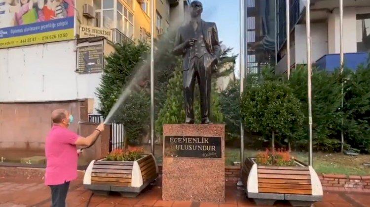 CHP'li Maltepe Belediyesi'nin Atatürk devrimlerine sahip çıkma yöntemi şaşırttı