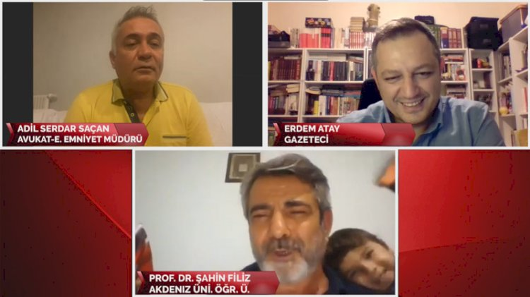 Gülümseten görüntüler... Prof. Dr. Filiz'in torunu programı bastı