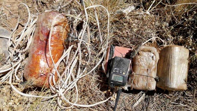 Bitlis'te, terör örgütünün tuzakladığı el yapımı patlayıcılar imha edildi