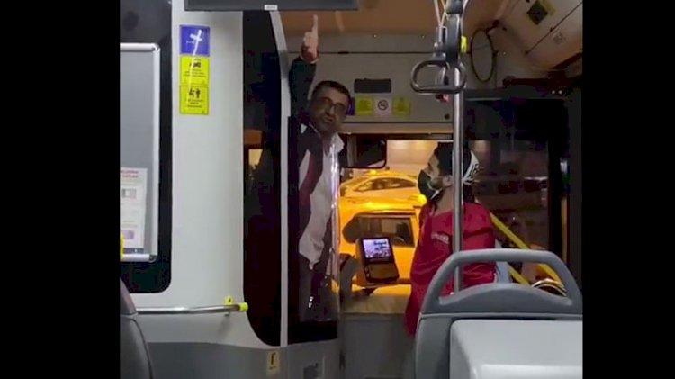 Metrobüs şoförü 'alkollu yolcu taşımıyorum' diyerek genç kadına böyle saldırdı