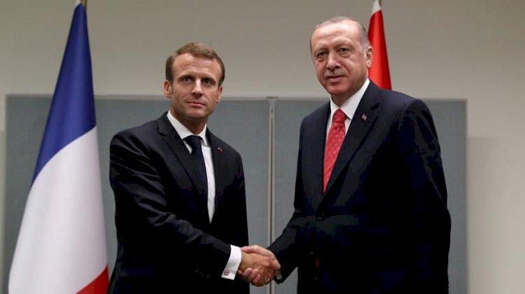 Krizden sonra ilk temas... Erdoğan ile Macron görüşecek
