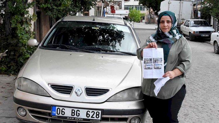 Hiç gitmediği İstanbul'dan park cezası yedi