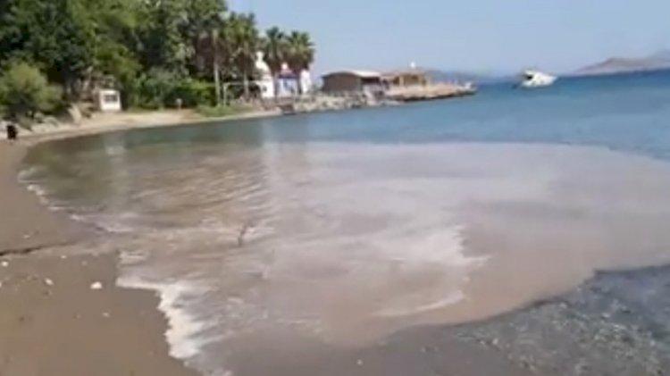 Tertemiz denize otelden lağım suyu akıttılar