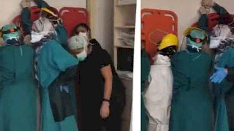 Ankara'da sağlık çalışanlarına saldıranlar tutuklandı