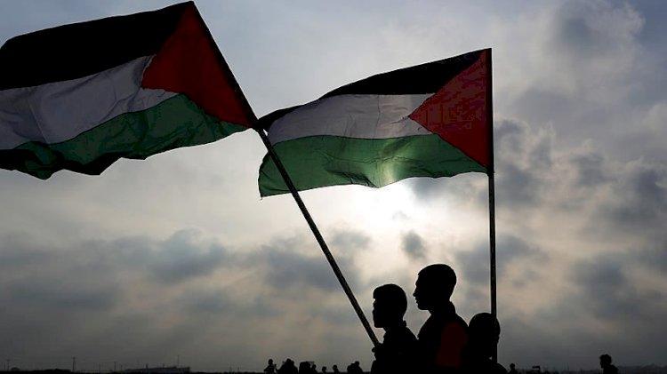 Gazze'de İsrail ile normalleşme anlaşması protesto edildi