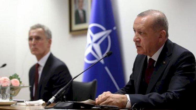 Erdoğan, Stoltenberg'le 'Doğu Akdeniz'i görüştü