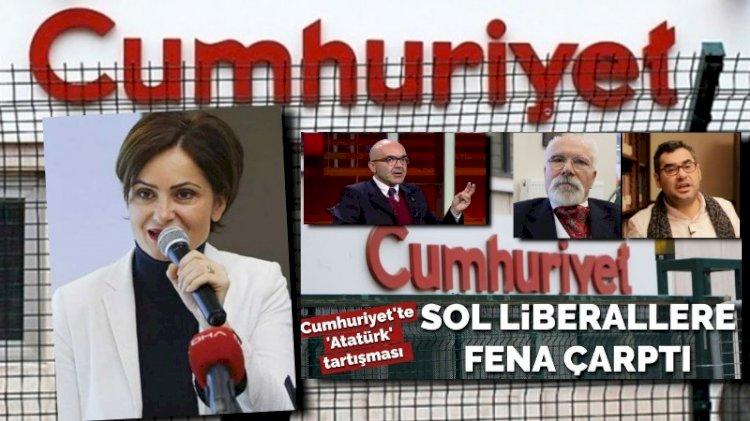 'Atatürk' tartışmasına Cumhuriyet gazetesi de girdi