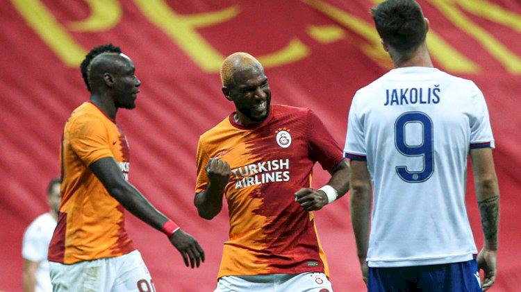 Galatasaray 2 golle turladı