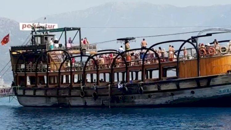 VİDEO- Teknede korona horonu!