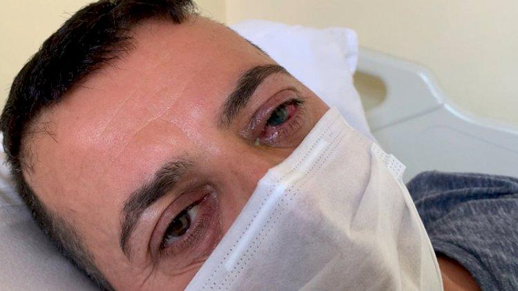 Maske uyarısı yüzünden darp edilen sağlık çalışanı: Şu an sol gözüm görmüyor